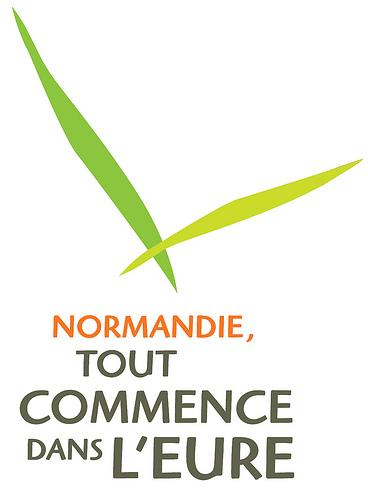 Logo de l'eure en Normandie